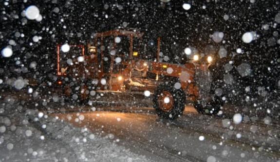 Kar Marmara'ya doğru geliyor