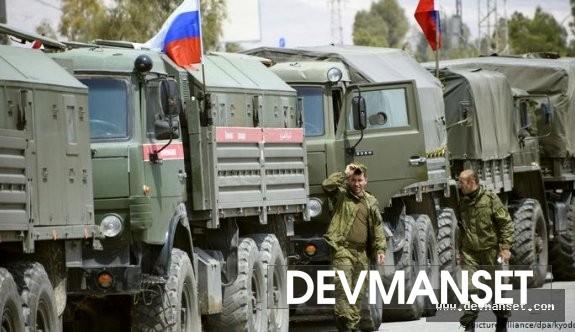 Rusya askeri personellerinden özel devriye