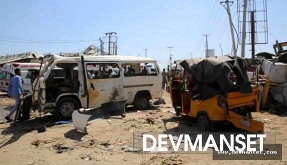 Somali'deki bombalı saldırıda 90 kişi yaşamını kaybetti