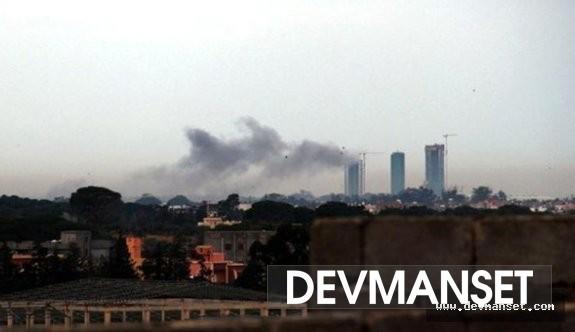Hafter milislerinden havaalanına füze saldırısı