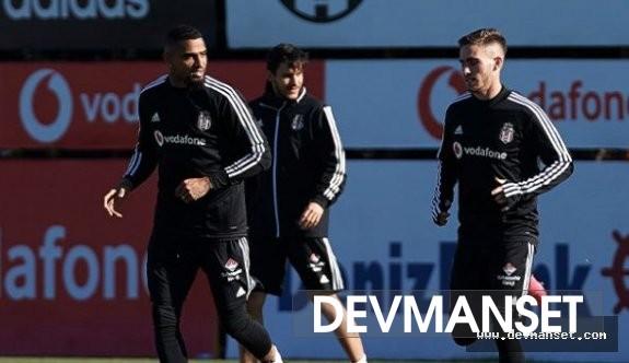 Beşiktaş'ın yeni transferi antremana çıktı