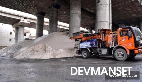 Kar istanbul ilinde başlamış durumda