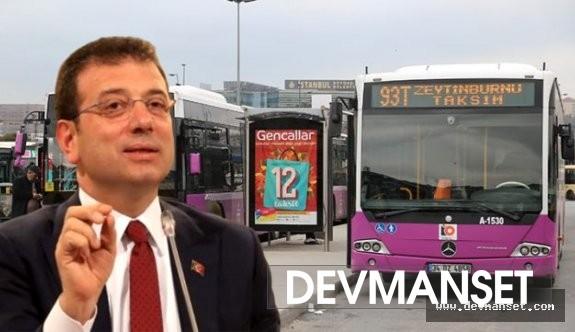 Halk otobüslerinin yakıtlarını İBB karşılayacak