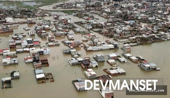 İran'ı bir de sel vurmuş durumda