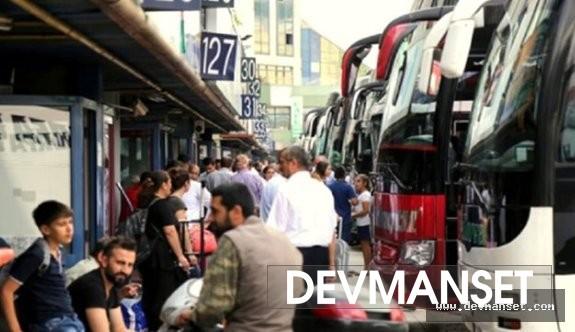 Şehirlerarası otobüslere sınırlama