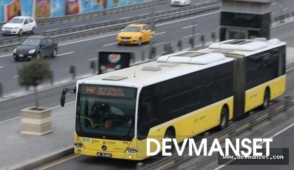 Toplu taşıma oranında %10'lük bir düşüş