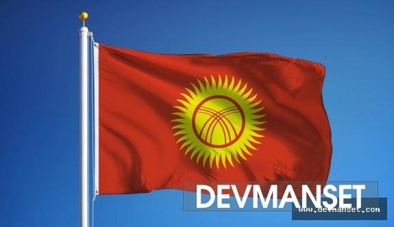 Kırgızistan'ın Cumhurbaşkanı istifa etmiş durumda