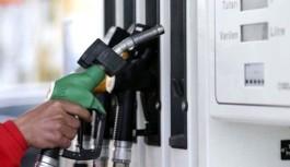 Benzin için indirim açıklaması