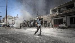 İdlib kenti Rusya tarafından yeniden vuruldu